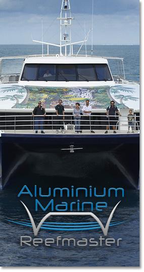 Aluminium Marine Reefmaster - Custom Aluminium Boat Builders